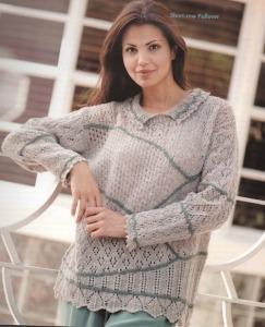 short row pullover